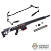 Rifle: Easy & Simple MRAD Short Barrel Sniper Rifle w/Silencer & Sling