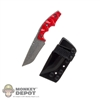 Knife: Easy & Simple FNH USA Combat Knife w/Sheath