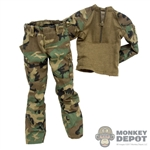 Uniform: Easy & Simple Woodland Field Combat Uniform