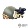 Helmet: Easy & Simple Airframe w/INVG Mount PVS-31 NVG & Remote Battery Pack