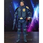 Boxed Figure: Art Figures Heavy Armored Special Cop - Blue Special Version (AF-015B)