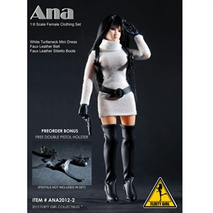 Uniform Set: Flirty Girl Ana Female Clothing Set - White