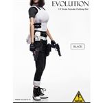 Clothing Set: Flirty Girl EVOLUTION Combat Set In Black (FG-2015-19)