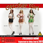 Clothing Set: Flirty Girl Oktober Girl Short Set Green (FGC2017-11)