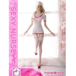 Uniform Set: Fire Girl Sexy Nurse Uniform (FG-049)