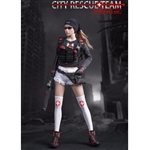 Uniform Set: Fire Girl Female Urban Rescue Team (FG-046)