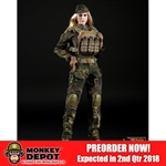 Uniform Set: Fire Girl Tactical Female Gunners Camouflage Suit