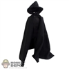 Cape: Flirty Girl Black Hooded Cape