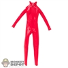 Suit: Flirty Girl Red Skin Tight Suit