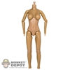 Figure: Flirty Girl Nude Base Body (No head, hands or feet)