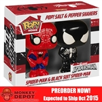 Funko POP Siperman & Venom Salt N' Pepper Shakers (5600)