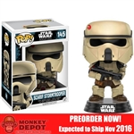 Boxed Figure: Funko POP Star Wars Rogue One Scarif Stormtrooper (10460)
