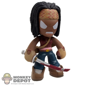 Mini Figure: Funko AMC The Walking Dead Series 2 Bloody Sword Michonne