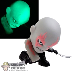 Mini Figure: Funko Guardians Of The Galaxy Drax (Glow In The Dark)
