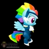 Mini Figure: Funko Power Ponies Rainbow Dash
