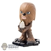 Funko Mini: Star Wars Last Jedi Chewbacca wPorg Bobble-Head (1:24)