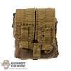 Pouch: Flagset Coyote M4 Double Mag Pouch