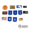 Insignia: Flagset MARSOC Patch Set