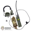 Radio: Flagset PRC-152 w/COMTAC3 & Pouch