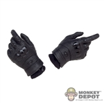 Hands: Flagset Molded Gloves w/Fabric