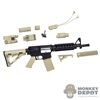 Rifle: Feel Toys MK18 Fully Equipped