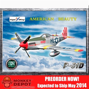 Flight Wing: 1/18 US WWII P-51D American Beauty