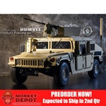 Boxed Vehicle: Go Truck 1/6 HMMWV UAH-M1114 (GT-016-008-MVHUM)