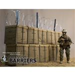 Display: Go Truck 1/6 Defensive Barriers (GH016-011-MDdba)