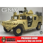 Boxed Vehicle: Go Truck 1/6 Ground Mobility Vehicle - SpecOps HMMWV (GT017-013-MVgmv)