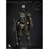Boxed Figure: Green Wolf Gear The Hanroku Trooper Salt Black Deluxe Edition (GWG-SBDE)