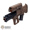 Rifle Set: Hobby Nuts XM25 Black & Red Dark Earth (HN-25-2)