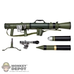 Weapon Set: Hobby Nut M3 Carl G Recoilless Rifle - OD w/Weathering (HN-M3-1)