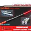Weapon Set: Hobby Nut LED Dual Red Light Saber (HN- DM-01)