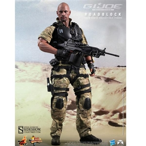 Boxed Figure: Hot Toys G.I. Joe Roadblock - Retaliation (902009)