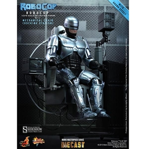 Boxed Figure: Hot Toys RoboCop with Mechanical Chair (902057)