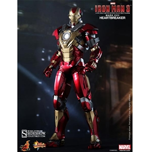 Boxed Figure: Hot Toys Iron Man Mark 17: Heartbreaker (902040)