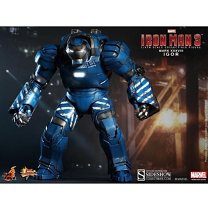 Boxed Figure: Hot Toys Iron Man – Igor – Mark XXXVIII (902129)