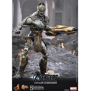 Boxed Figure: Hot Toys Chitauri Commander (902162)