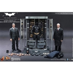 Boxed Figure: Hot Toys Batman Armory w/Bruce Wayne & Alfred (902171)