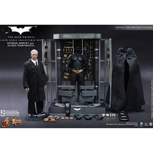 Boxed Figure: Hot Toys Batman Armory w/Alfred Pennyworth (902170)