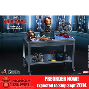 Boxed Set: Hot Toys Iron Man Workshop Accessories (902240)