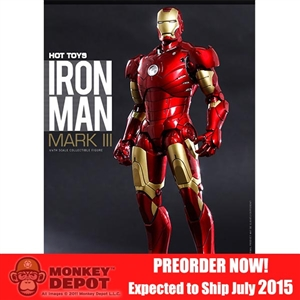 Boxed Figure: DIECAST Iron Man Mark III (902224)