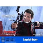 Boxed Figure: Hot Toys Age Of Ultron - Hawkeye (902379)