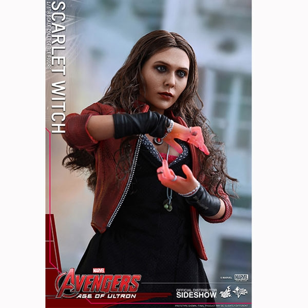 Monkey Depot  Boxed Figure Hot Toys Avengers Scarlet Witch 902440