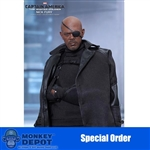Boxed Figure: Hot Toys Captain America: The Winter Soldier - Nick Fury (902541)