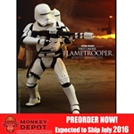 Boxed Figure: Hot Toys Star Wars - First Order Flametrooper (902575)