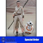 Boxed Figure: Hot Toys Star Wars - Rey & BB-8 (902612)