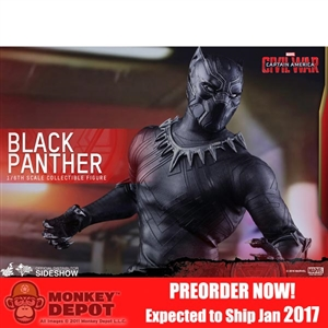Boxed Figure: Hot Toys Captain America: Civil War - Black Panther (902701)