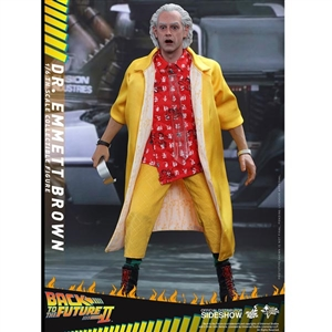 Boxed Figure: Hot Toys Back To The Future II - Dr. Emmett Brown (902790)