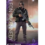 Boxed Figure: Hot Toys Resident Evil 6 - Leon S Kennedy (902750)